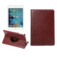 KDS Luxury PU Leather Flip Case For iPad mini 4 360 Degree Rotation Cover Case MT-5061