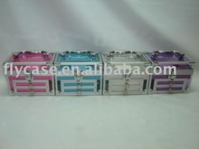 2013 new design best quality aluminium acrylic jewelry case 200*120*120MM