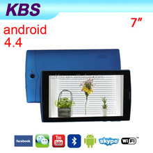 7 Inch NFC 3G Wifi DVB-T2 2GB Ram Android Tablet PC M738 CD Player ,Sim Card Slot Phone Option