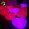 Christmas Decoration Inflatable Heart Balloon with led Light