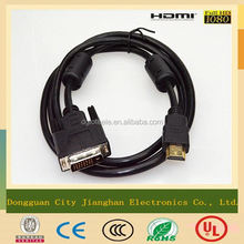 Best quality HDMI to vga cable with ferrit core