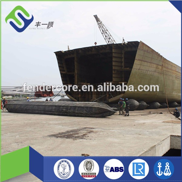 Barge use China made ship launching inflatable airbag
