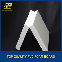 advertis pvc rigid foam sheet white/black