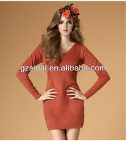 2013 Top selling new design for women winter sweaters
