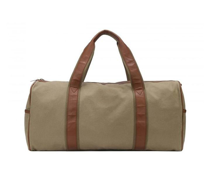 Large Canvas Travel Duffel Bag For Mens Womens Overnight Weekend Bag