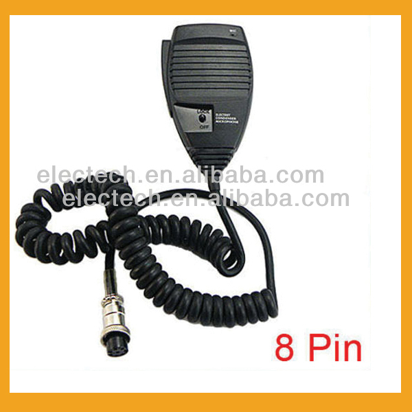 Police Speaker Microphone Headset for 8 Pin New Handheld