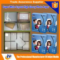 A3 A4 4x6 5x7 200g 230g 260g Single Side High Glossy Photo Paper/Inkjet Photo Paper