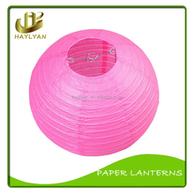 14inch hot pink Quality Hand Crafted Paper Lanterns paper crafts ball