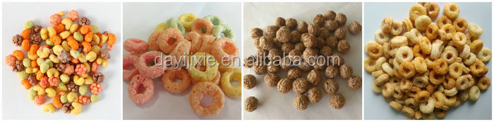 Jinan Dayi puff food breakfast cereal snacks machine