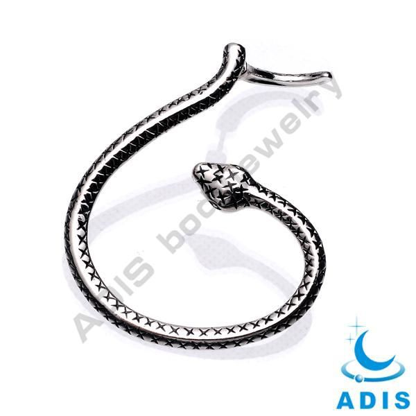 Stainless steel Ball Spiral Barbell-Cartilage Earring-Lip Ring Hoop-Tragus piercing Body Jewelry