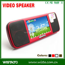 Best Christmas Gift Items Colorful 3W Active Bluetooth Speaker/mini Bluetooth Speaker