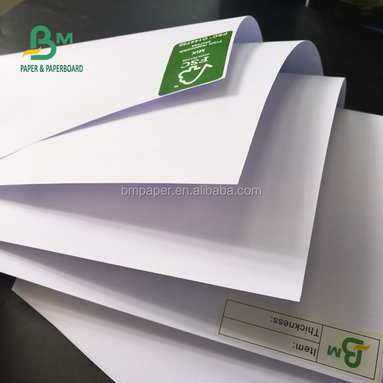 FSC 700*1000mm 70GSM White Offset Paper / Bond Paper For Composition Books