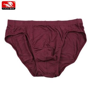 breathing hole design burgundy color vertical bar old men briefs bulge custom your logo underwear 100%cotton panties