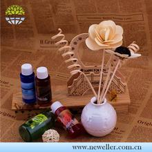 Car Fragrance Replacement Sticks round shape home reed diffuser For Restaurant
