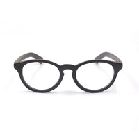 Natural wooden rim Glasses Men women Optical Eyeglasses black Spectacles Frame