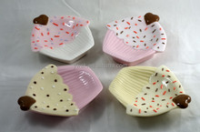 New Arrival Special Wedding Favors Ceramic Snack Plates dishes Dessert holder wedding decorations Party Favors