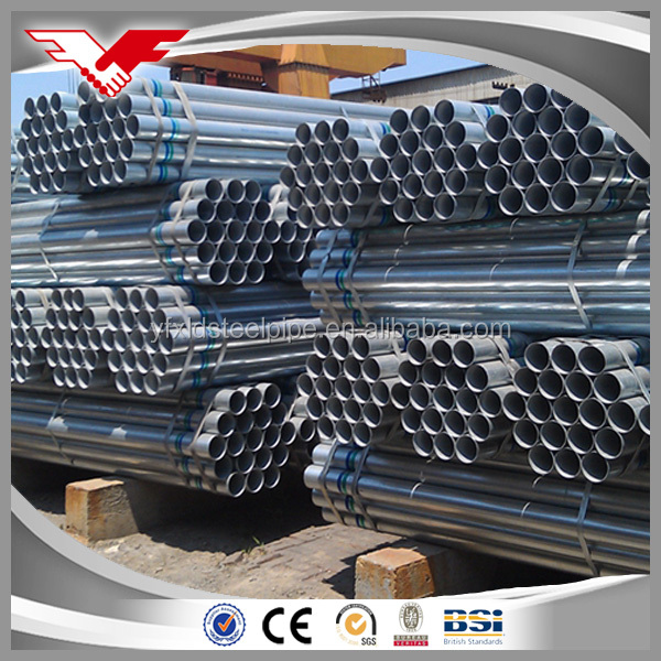 Hot product galvanized steel pipe threaded or plain ends products imported from china wholesale