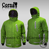 Super light hood waterproof warm sport jacket breathable polyester men crane sports ski wear