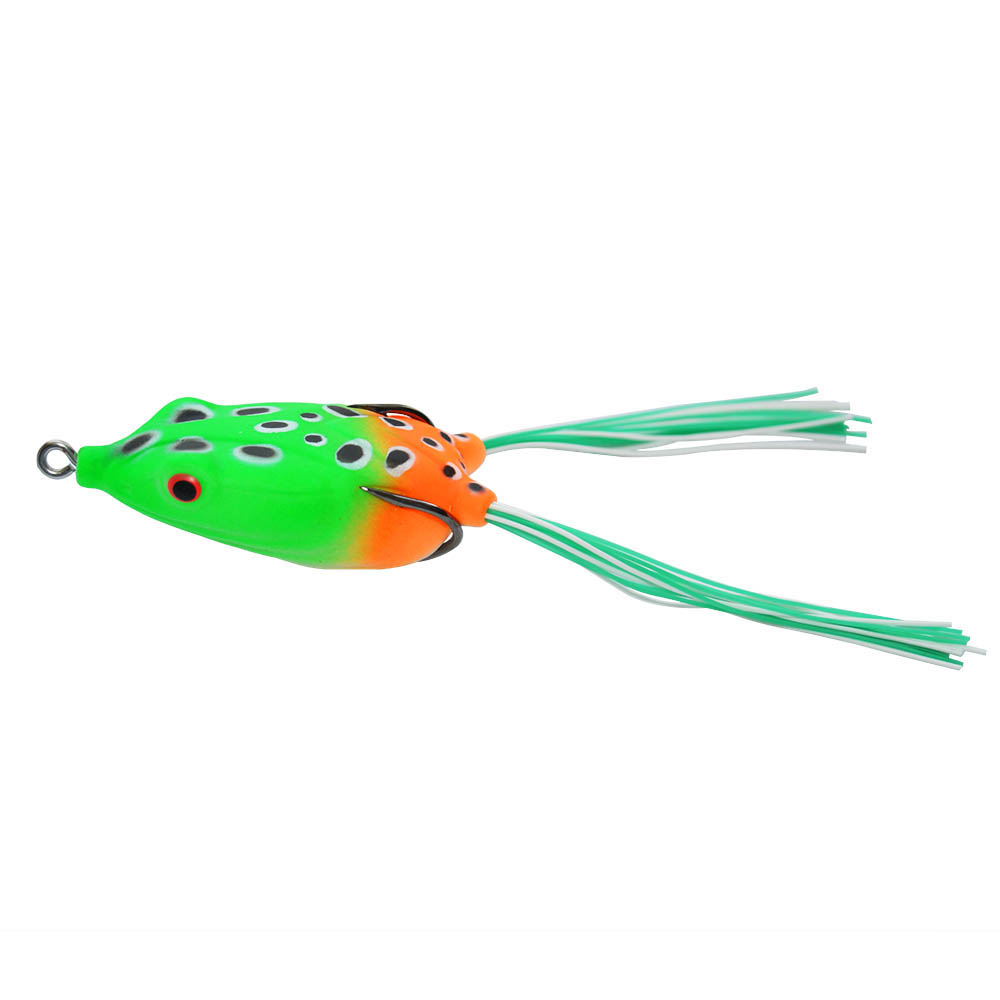 Topwater kicking frog jumping frog lures for snakehead bass pike fishing