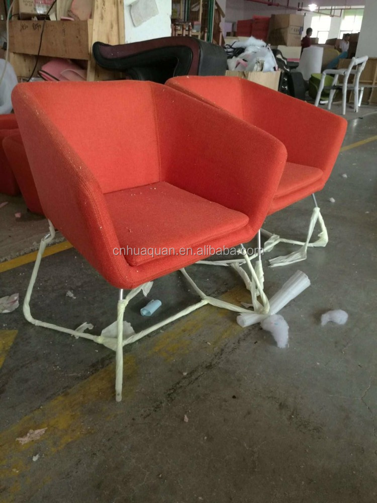 A359#fabric leisure chair wooden chairs with metal legs,office sofa single seat