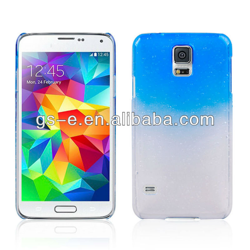 Gradient Color Raindrop PC Hard Case for Samsung Galaxy S5 G900