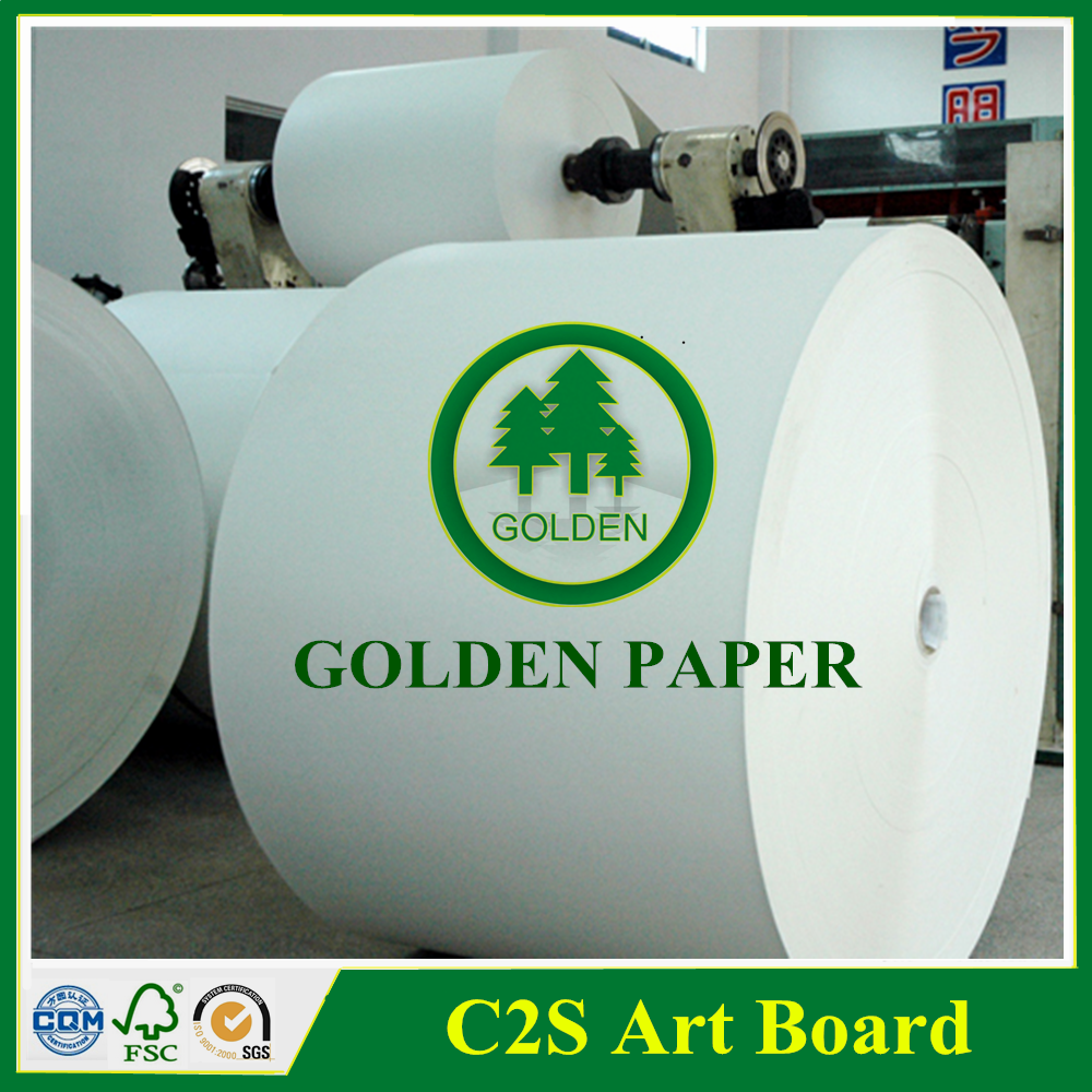 2 sides coated art paper indonesia chromo art paper & art board