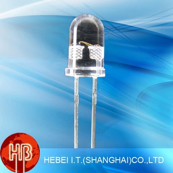 5mm Pure White Round Through hole Led Diode