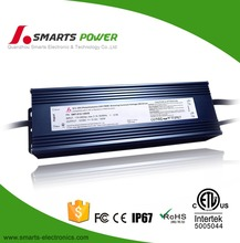 waterproof electronic led driver ip67 24v 150w 0-10v dimming/pwm dimmable led driver
