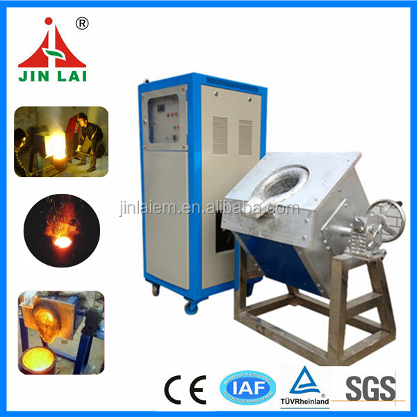 New Invention Industrial Used Tilting Copper Scrap Melting Machine Electric Furnace Melting for Brass (JLZ-160)