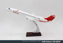 Boeing B787 Avianca Model Aircraft Display Customized Large Scale for Office Decoration