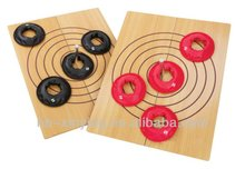 Folding Ring Toss Game in size:60*46*20cm