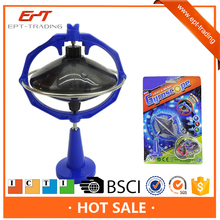 Hot selling spinning top peg-top toys with light