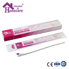 CE Approved 100% Silicone Foley Catheter Medical Disposable 2 Way/3 Way Latex Free Foley Catheters