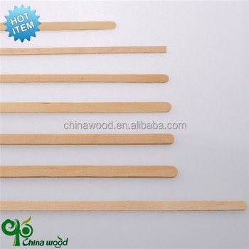 reliable factory supply wooden coffee stirrer/wooden stirrers