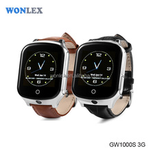 3G!Newest model gps wifi tracker watch phone with 3G network and real time location