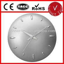 regular round shaped based standard dome raised plastic wall clock themes