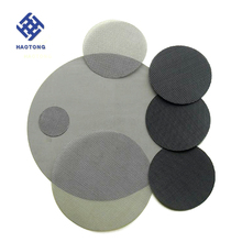 directly factory black iron wire cloth disc for filter
