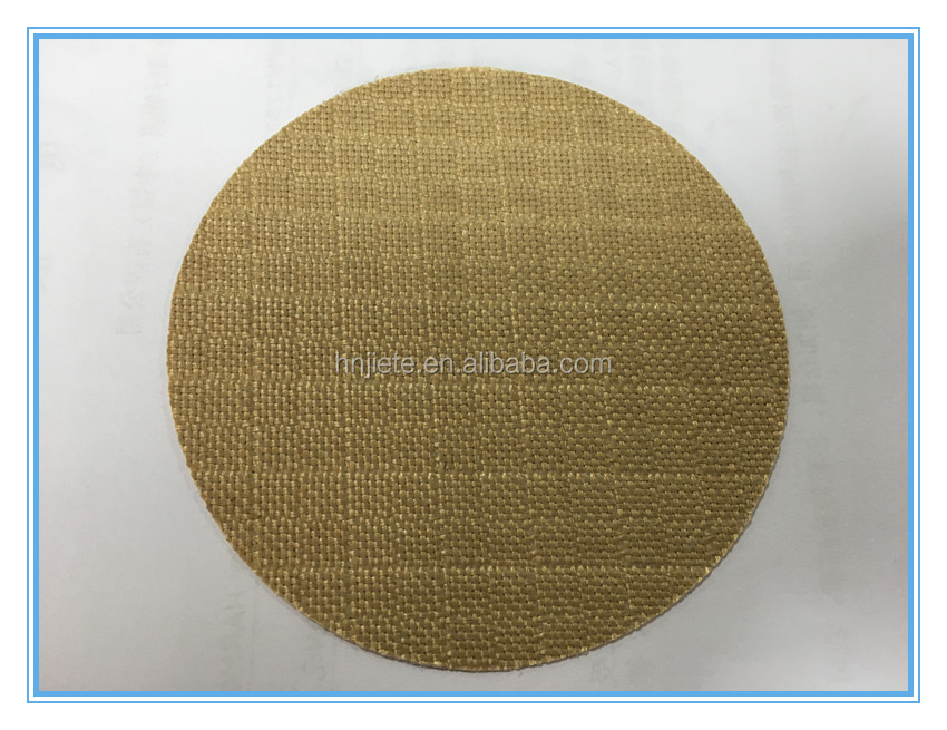 Brown UV protection ptfe teflon coated fiberglass tent cloth