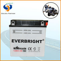 Creditable china motorcycle use dry charged battery manufacture factory