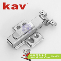 fix mounted aluminum door concealed hinge hydraulic soft close cabinet insert hinge