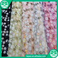 Beautiful Floral Pattern High Quality African Lace Fabrics Cord For Garment