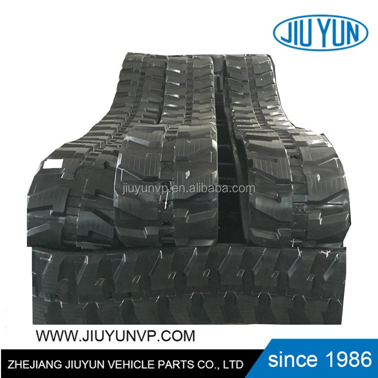 Good price for Agriculture Rubber Track Combine Harvester truck rubber tracks pads