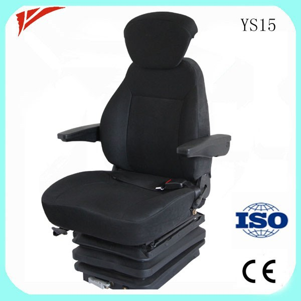 Leather/PVC cover vip bus driver seat for sale