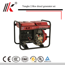 ALIBABA CHINA 4.5 / 5KVA AIR-COOLED DIESEL GENERATOR WELDING MACHINE FOR SALE