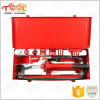 Professional 4ton TL0004-1 Pro-Quality Auto Body Frame Repair Hydraulic Tool Kit - Porta Power jack