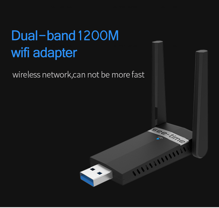 High power 1200mbps wireless network wlan sticks