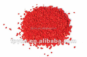 quartz pebble red color sand
