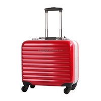 abs+pc plastic frame travel luggage cabin carry on suitcase trolley luggage suitcase