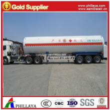 Manufacture Insulated Cryogenic CO2 Transportation tank semi Trailer