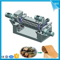 Spindle less Face Veneer Rotary Peeling Lathe